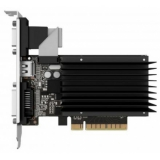 Видеокарта VGA PALIT NVIDIA GeForce GT 710, 2Gb GDDR3/64-bit, PCI-Ex16 3.0,  DVI, HDMI, VGA, 2-slot cooler, Retail, PA-GT710-2GD3H (NEAT7100HD46-2080H)