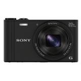 "Фотоаппарат Sony Cyber-shot DSC-WX350 черный 18.2Mpix Zoom20x 3"" 1080p MS Pro/microSDXC CMOS Exmor R IS opt 5minF 10fr/s HDMI/WiFi/Li-Ion(DSCWX350B.RU3)"