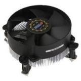 Вентилятор для Socket 1155/1156 Titan DC-156V925X/RPW/CU25 PWM Al+Cu