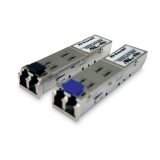 Модуль D-Link DEM-312GT2 Mini GBIC с 1 портом 1000Base-SX+ для многомодового оптического кабеля