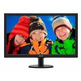 "Монитор Philips 27"" 273V5LHSB (00/01) черный TN+film LED 5ms 16:9 HDMI матовая 300cd 1920x1080 D-Sub FHD 4.53кг()"