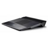 """Подставка под ноутбук DEEPCOOL M3 Black вентилятор 140мм с регулировкой скорости, до 15.6"""", колонки 2.1, 2USB BOX"""