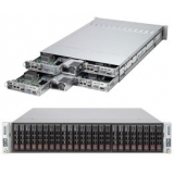 "Платформа SuperMicro Twin SYS-2027TR-D70RF+ 2.5"" LSI2008 1G 2P 2x1280W 2 Nodes(SYS-2027TR-D70RF+)"