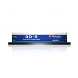 Диск BD-R Verbatim 25Gb 6x Cake Box (10шт) Printable Light Scribe (43804)(43804)