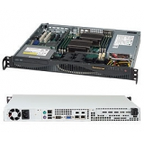 Корпус SuperMicro CSE-512F-350B 1U/2x3.5 Fixed HDD/350W