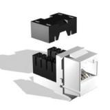 Модуль информационный Brand-Rex GigaPlus UTP GPCJAKU013LF Keystone RJ45 кат.5e белый(GPCJAKU013LF)