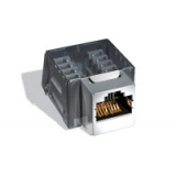 Модуль информационный Brand-Rex 10GPlus AC6JAKU0K2 Keystone RJ45 кат.6A черный(AC6JAKU0K2)