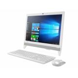 "Моноблок Lenovo IdeaCentre 310-20IAP 19.5"" WXGA+ P J4205 (1.5)/4Gb/500Gb 5.4k/HDG505/DVDRW/Free DOS/GbitEth/WiFi/BT/клавиатура/мышь/Cam/белый 1440x900(F0CL002URK)"
