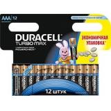 Элемент питания AAA Duracell Turbo (уп12шт)