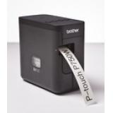 Принтер Brother P-touch PT-P750W стационарный черный(PTP750WR1)