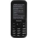 """Мобильный телефон Philips E160 черный моноблок 2Sim 2.4"""" 240x320 0.3Mpix BT GSM900/1800 GSM1900 MP3 FM microSDHC max32Gb(867000121548)"""