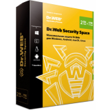 ПО Антивирус Dr Web Security Space 2ПК 2года BOX (BHW-B-24M-2-A3)