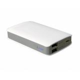 Аккумулятор внешний iconBIT FTB6600PB 6600mAh, два USB-порта (5V/2.1A, 5V/1A)