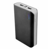 Аккумулятор внешний iconBIT FTB8000SP 8000mAh, два USB-порта (5V/2A, 5V/1A), встроенный фонарь, черный