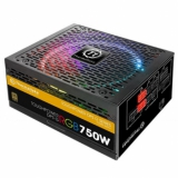 Блок питания ATX 750W Thermaltake Toughpower Grand RGB TPG-0750F-R 80+ gold (24+4+4pin) APFC 140mm fan color 8xSATA Cab Management RTL (PS-TPG-0750DPCGEU-R)