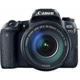 """Зеркальный Фотоаппарат Canon EOS 77D черный 24.2Mpix EF-S 18-135mm f/3.5-5.6 IS USM 3"""" 1080p Full HD SDXC Li-ion(1892C004)"""