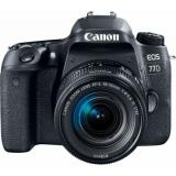 "Зеркальный Фотоаппарат Canon EOS 77D черный 24.2Mpix EF-S 18-55mm f/3.5-5.6 IS STM 3"" 1080p Full HD SDXC Li-ion(1892C017)"
