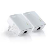 Адаптер Poweline TP-Link TL-PA4010KIT 500Mbps (комплект из двух адаптеров TL-PA4010)