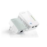 Адаптер Poweline TP-Link TL-WPA4220KIT 500Mbps, усилитель беспроводного сигнала 802.11n/b/g 300Mbps (комплект из адаптеров TL-PA4010 и TL-WPA4220)