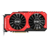 Видеоадаптер PCI-E Palit GeForce GTX960 2048Mb GeForce GTX960 Jetstream (RTL) GDDR5 128bit DVI-I/DVI-D/HDMI/DP
