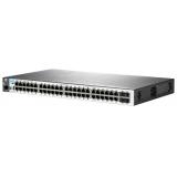 Коммутатор HP 2530-48G-PoE+ 24x10/100/1000/PoE+ + 4xSFP, управляемый 2-го уровня (J9772A)