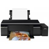 Принтер струйный цветной Epson L805 (A4, Wi-Fi, СНПЧ) (C11CE86403)