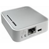 Маршрутизатор TP-Link TL-MR3020 802.11n/b/g 150Mbps, 1x10/100 LAN/WAN, 1xUSB 2.0 (подключение 3G/3.75G-модема), питание по USB