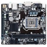 Материнская плата Gigabyte GA-H110M-S2V (RTL) S-1151 H110 2xDDR4 PCI-E x16/PCI-E x1 4xSATA III 2xPS/2/D-sub/DVI-D/2xUSB 2.0/2xUSB 3.0/GLAN/3 audio jacks mATX