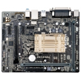 Материнская плата ASUS N3050M-E (RTL) Cel-N3050 1xDDR3 PCI-E x16 (x1 mode)/2xPCI-E x1 2xSATA III PS/2/D-sub/HDMI/2xUSB 2.0/2xUSB 3.0/GLAN/LPT/3 audio jacks mATX