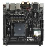Материнская плата MSI A88XI AC V2 (RTL) S-FM2+ A88X 2xDDR3 PCI-E x16 4xSATA III/RAID 0,1,5,10,JBOD PS/2/D-sub/DVI-D/HDMI/4xUSB 2.0/2xUSB 3.0/GLAN/S/PDIF/3 audio jacks Mini-ITX