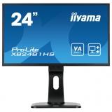 "Монитор-ЖК 23.6"" Iiyama XB2481HS-B1 LED 1920*1080 VA 5ms DVI HDMI VGA M/M HAS Pivot Black"