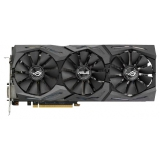 Видеоадаптер PCI-E ASUS GeForce GTX1080 8192Mb ROG STRIX-GTX1080-8G-GAMING (RTL) GDDR5X 256bit DVI-D/2xHDMI/2xDP