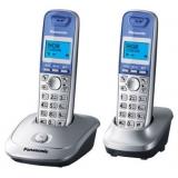 Телефон Panasonic KX-TG2512RU1 радио Dect 2 трубки