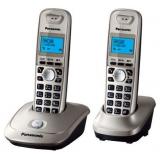 Телефон Panasonic KX-TG2512RU2 радио Dect 2 трубки