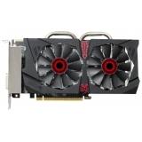 Видеоадаптер PCI-E ASUS Radeon R7 370 2048Mb STRIX-R7370-DC2OC-2GD5-GAMING (RTL) GDDR5 256bit DVI-I/DVI-D/HDMI/DP