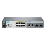 Коммутатор HP 2530-8G 8x10/100/1000 + 2x10/100/1000/SFP, управляемый 2-го уровня (J9777A)