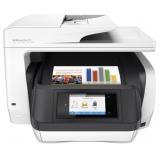 МФУ струйное цветное HP OfficeJet Pro 8720 (A4, принтер/сканер/копир/факс, ADF, Duplex, LAN, Wi-Fi) (D9L19A)