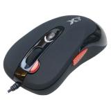 Мышь A4TECH X-705K черный оптическая (2000dpi) USB игровая (5but)