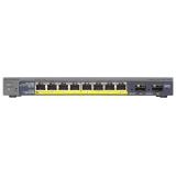 Коммутатор NetGear (GS110TP-200EUS) 8-портов 10/100/1000BASE-T PoE+/SFP(GS110TP-200EUS)