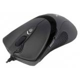 Мышь A4TECH X-748K черный оптическая (3200dpi) USB игровая (6but)