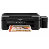МФУ струйное цветное Epson L222 (A4, принтер/сканер/копир, СНПЧ) (C11CE56403)