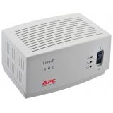 Стабилизатор напряжения APC Line-R LE600I (600VA, 4 розетки Euro) Grey