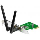 Сетевая карта PCI-E x1 ASUS PCE-N15 802.11n/b/g 300Mbps, две внешние антенны