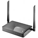 Маршрутизатор Zyxel Keenetic III 300Mbps, 4x10/100 LAN, 1x10/100 WAN, 1xFXS, 1xUSB 2.0 (сервер печати, подключение внешнего носителя, 3G/4G-модема), две внешние антенны 5dBi, аппаратная поддержка IP-телевидения