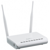 Маршрутизатор Zyxel Keenetic DSL 802.11n/b/g 300Mbps, 3x10/100 LAN, 1x10/100 LAN/WAN, 1xRJ11 WAN, 2xUSB 2.0 (сервер печати, подключение внешнего носителя, 3G/4G-модема), две внешние антенны 5dBi, аппаратная поддержка IP-телевидения