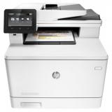 МФУ лазерное цветное HP Color LaserJet Pro M477fnw (A4, принтер/сканер/копир/факс, ADF, LAN, Wi-Fi) (CF377A)