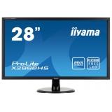 "Монитор-ЖК 28"" Iiyama X2888HS-B1 LED 1920*1080 MVA 5ms DVI HDMI VGA DP M/M Black"