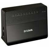 Маршрутизатор D-Link DSL-2650U 802.11b/g 150Mbps, 4x10/100 LAN, 1xRJ11 WAN, 1xUSB 2.0 (сервер печати, подключение внешнего носителя), ADSL/ADSL2/ADSL2+, Annex A
