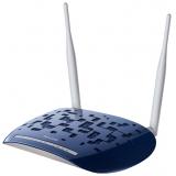 Маршрутизатор TP-Link TD-W8960N 802.11n/b/g 300Mbps, 4x10/100 LAN, 1xRJ11 WAN, ADSL/ADSL2/ADSL2+, Annex A, две внешние антенны