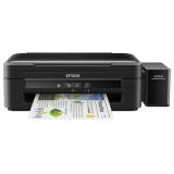 МФУ струйное цветное Epson L382 (A4, принтер/сканер/копир, СНПЧ) (C11CF43401)